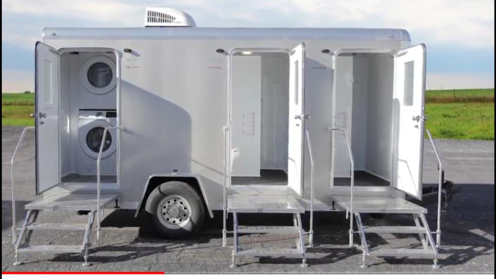 Shower Laundry Trailer
